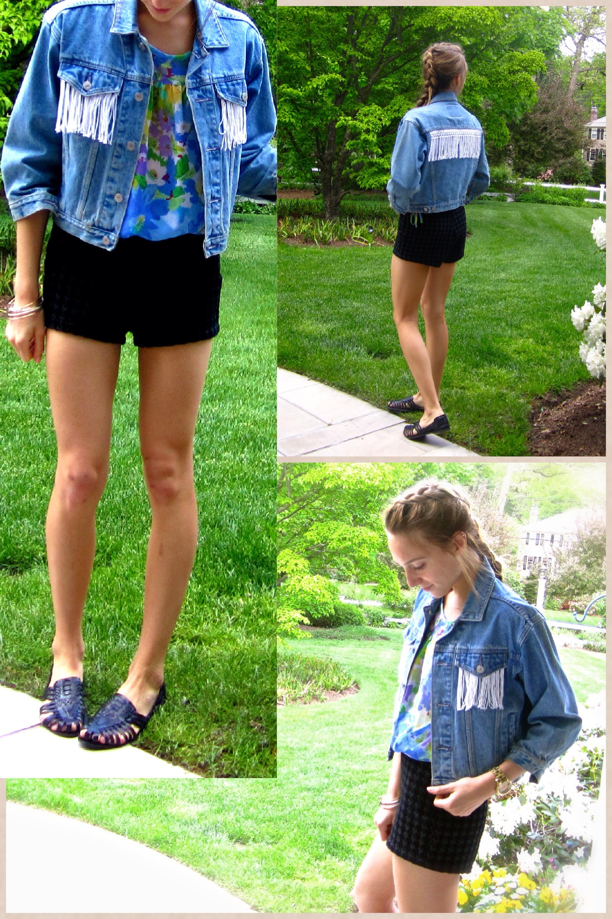 OOTDIY – Denim & Fringe